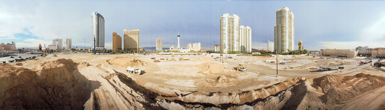 Las Vegas construction site